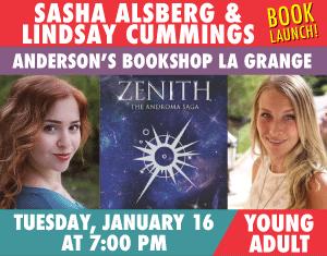 Sasha Alsberg & Lindsay Cummings - BOOK LAUNCH Zenith