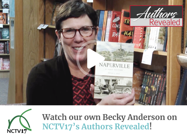 Becky Anderson on NCTV17's Authors Revealed