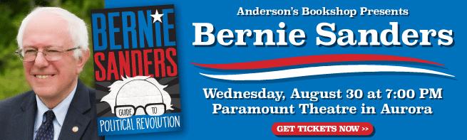 Bernie Sanders Paramount Theatre Aurora