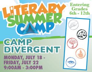 Literary Summer Camp Camp Divergent
