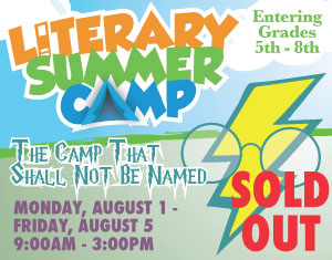 Literary Summer Camp The Camp That Shall Not be Named