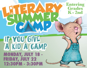 Literary Summer Camp If You Give a Kids a Camp