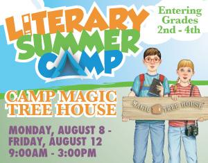 Literary Summer Camp Camp Magic Treehouse