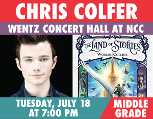 Chris Colfer The Lnad of Stories World's Collide