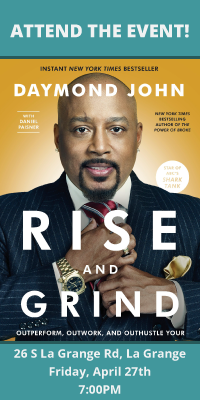 Daymond John, Rise and Grind event