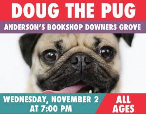 Doug the Pug and Leslie mosier