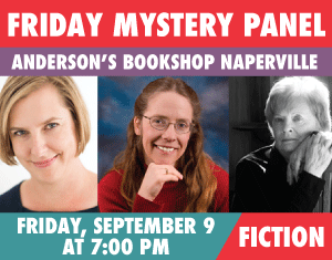 Friday Mystery Panel CHERYL HONIGFORD, D.M. PIRRONE, and J. BARD-COLLINS