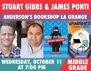 Stuart Gibbs and James Ponti Spy School Vanished