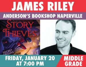 James Riley Story Thieves Secret Origins