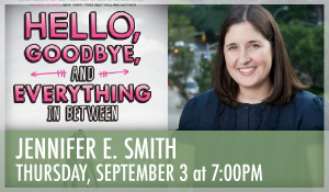 Jennifer E. Smith Hello, Goodbye and Everyhing in Between