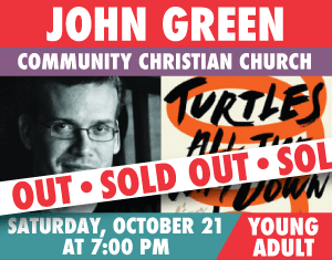 John Green with Hank Green Turtles All the Way Down