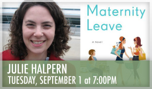 Julie Halpern Maternity Leave
