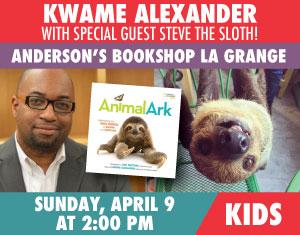 Kwame Alexander Steve the Sloth Animal Ark