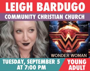 Leigh Bardugo Wonder Woman Warbringer