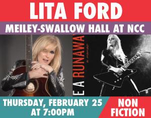 Lita Ford Live Like a Runaway