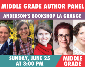 MIDDLE GRADE AUTHOR PANEL Andrea Beaty, Cece Bell, Betsy Bird & Erica Perl - Moderated by Sharyn November