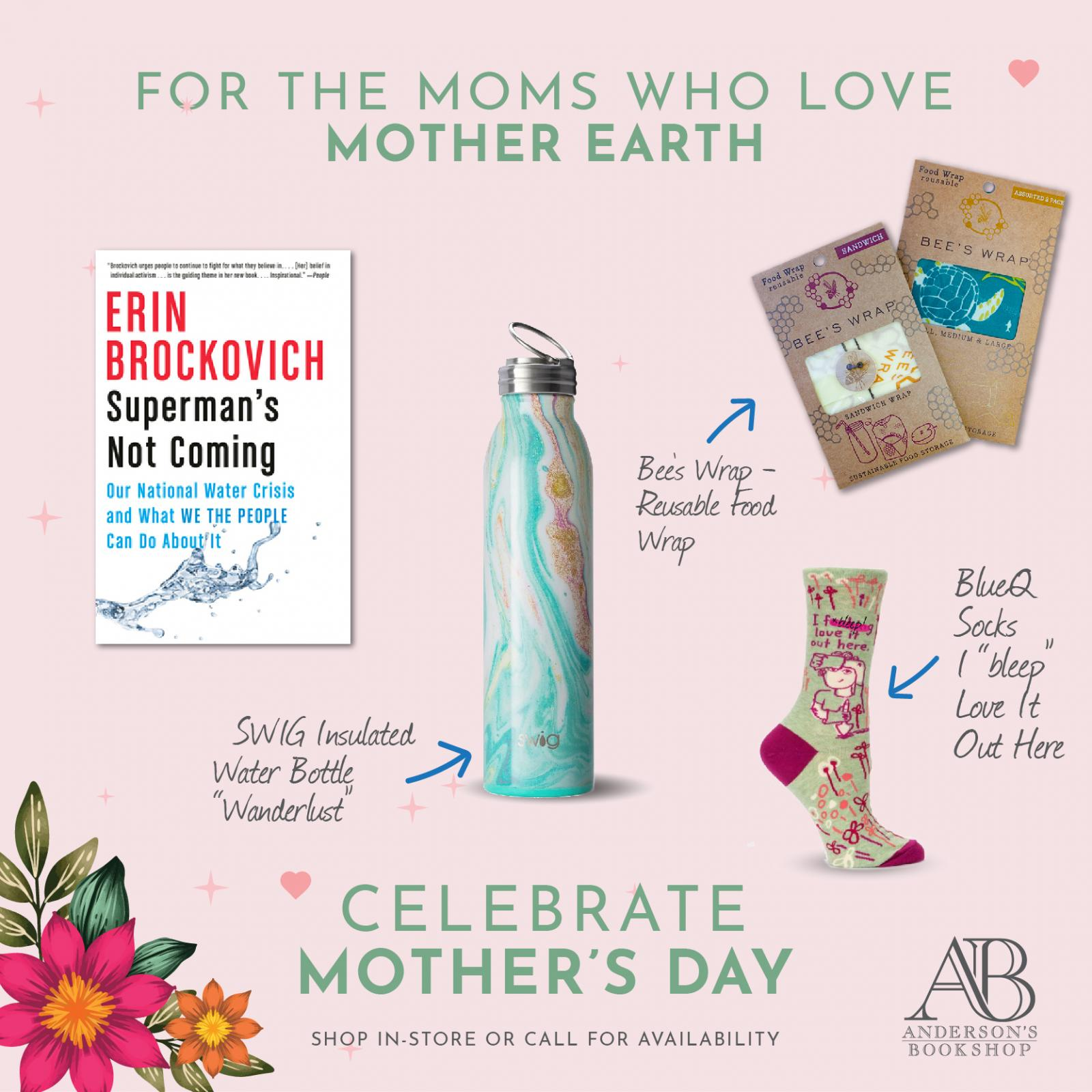 Mother's Day  - Mom's who love Mother Earth