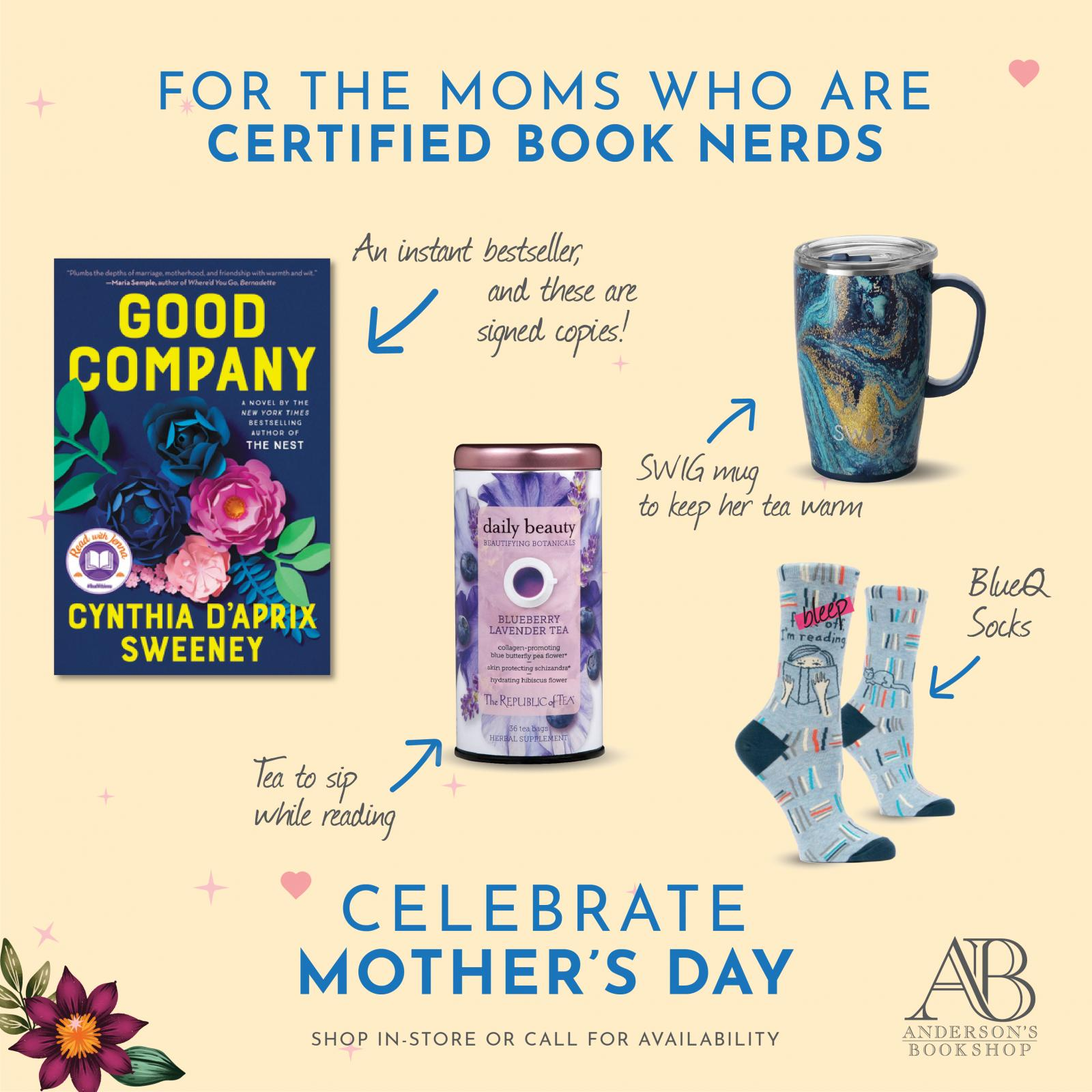 Mother's Day - Moms Who are Book Nerds