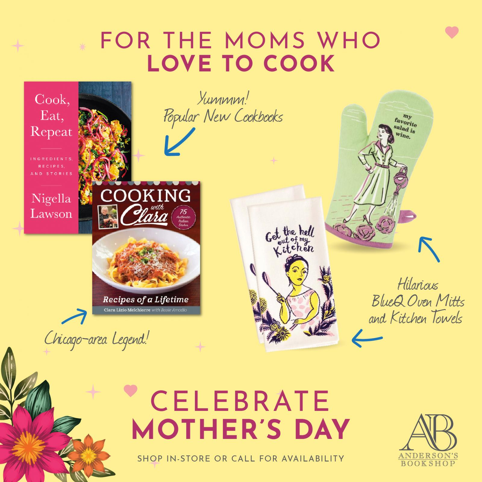 Mother's Day  - Mom's who love to Cook