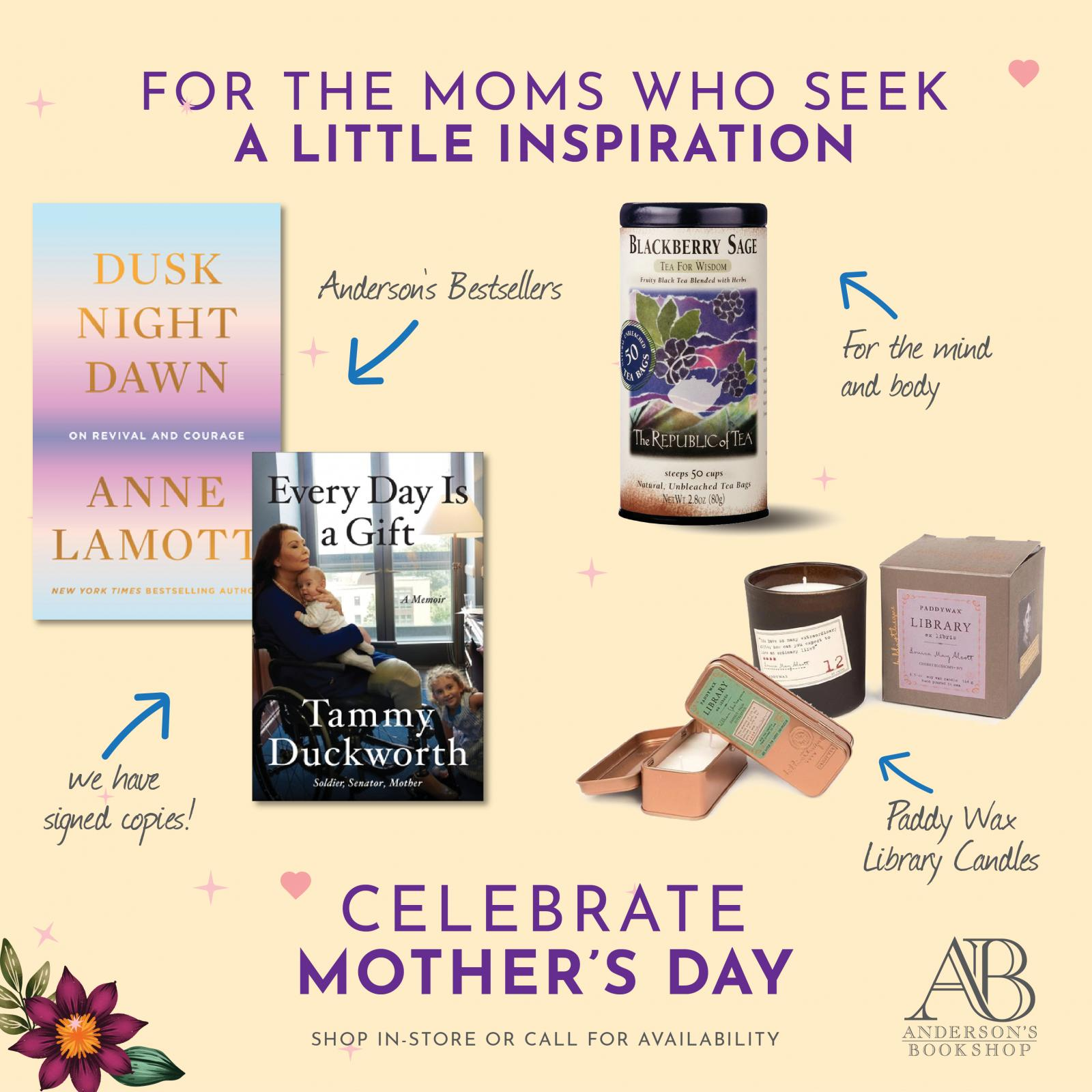 Mother's Day  - Mom's who seek Inspiration