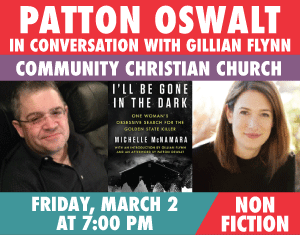 Patton Oswalt and Gillian Flynn I'll be Gone in the Dark