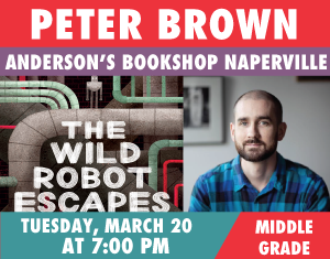 Peter Brown The Wild Robot Escapes