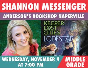 Shannon Messenger Lodestar