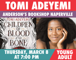 Tomi Adeyemi Children of Blood and Bone