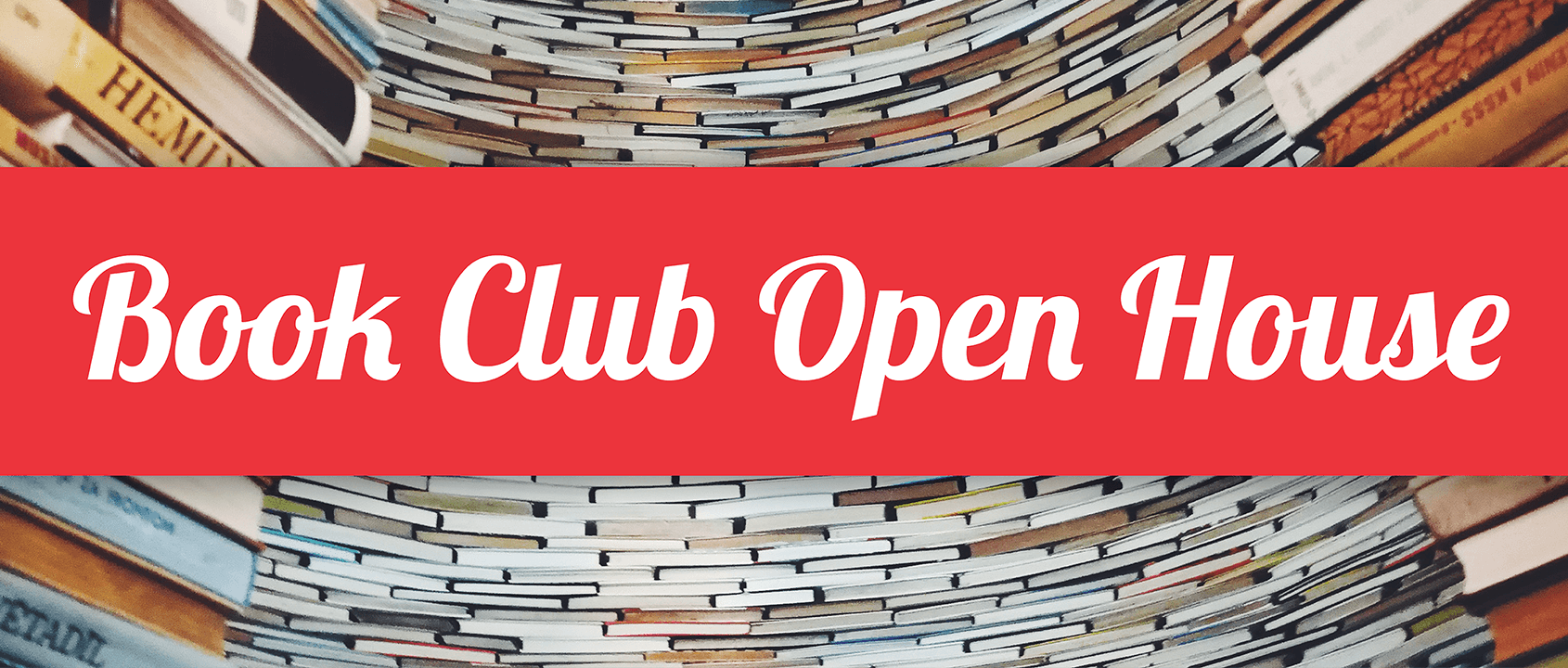 Book Club Open House Event