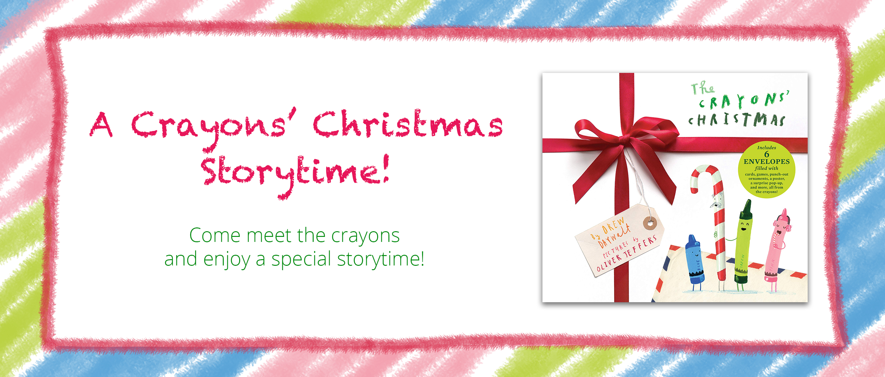A Crayons' Christmas Storytime