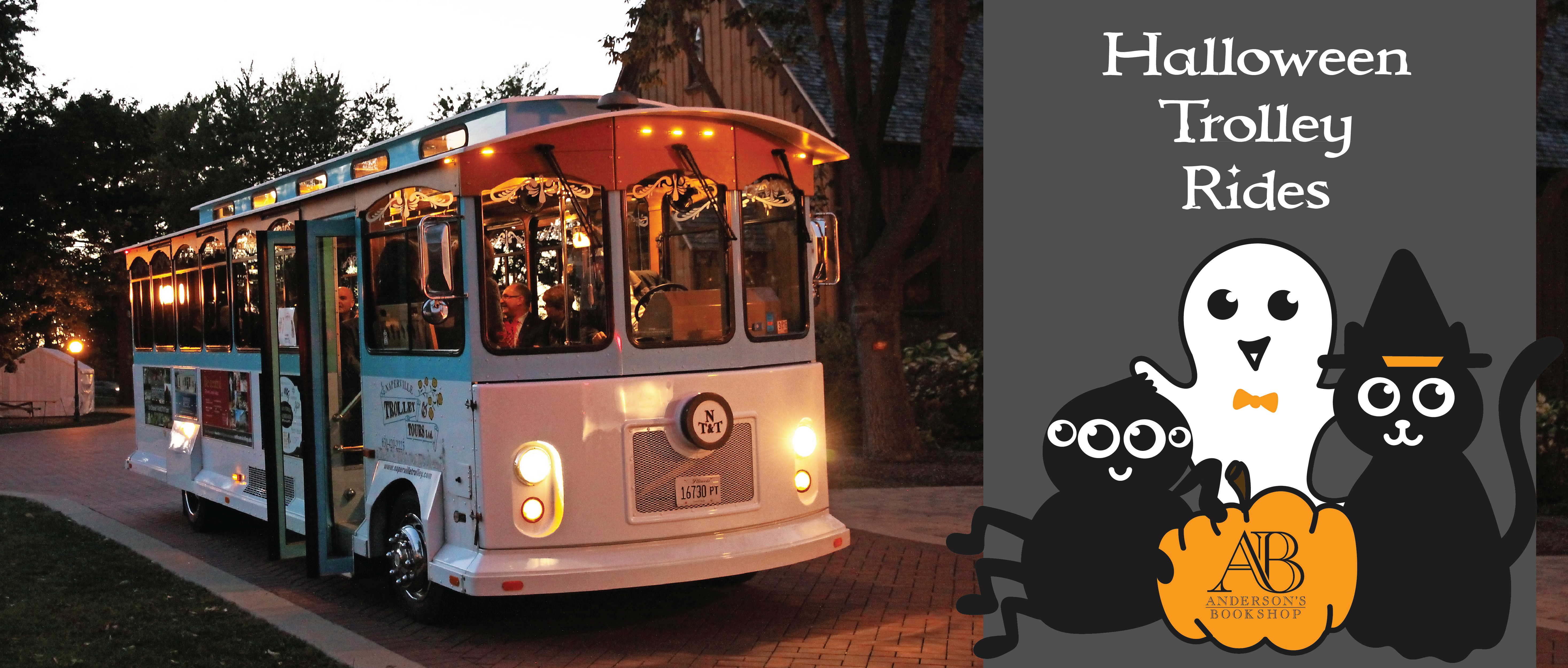 Halloween Trolley Rides