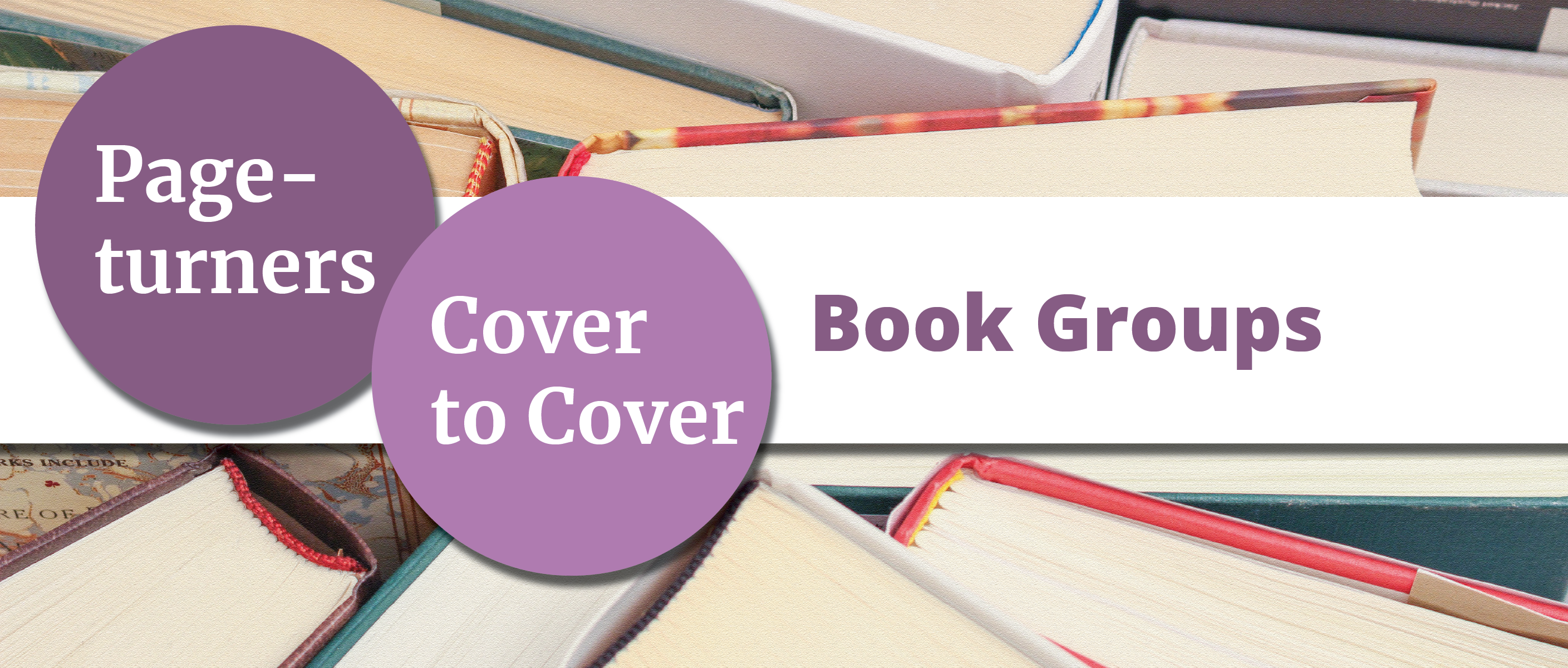Pageturners and Cover to Cover