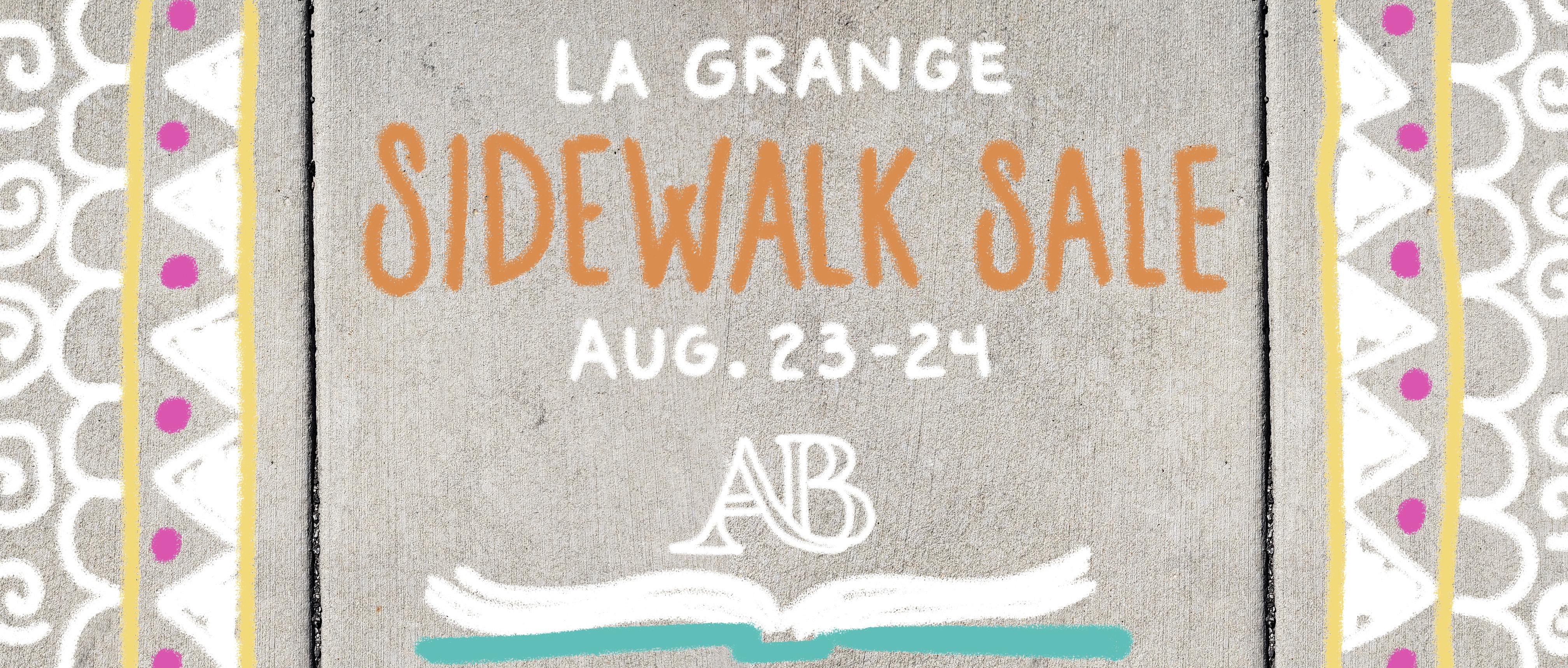 Sidewalk Sale in La Grange