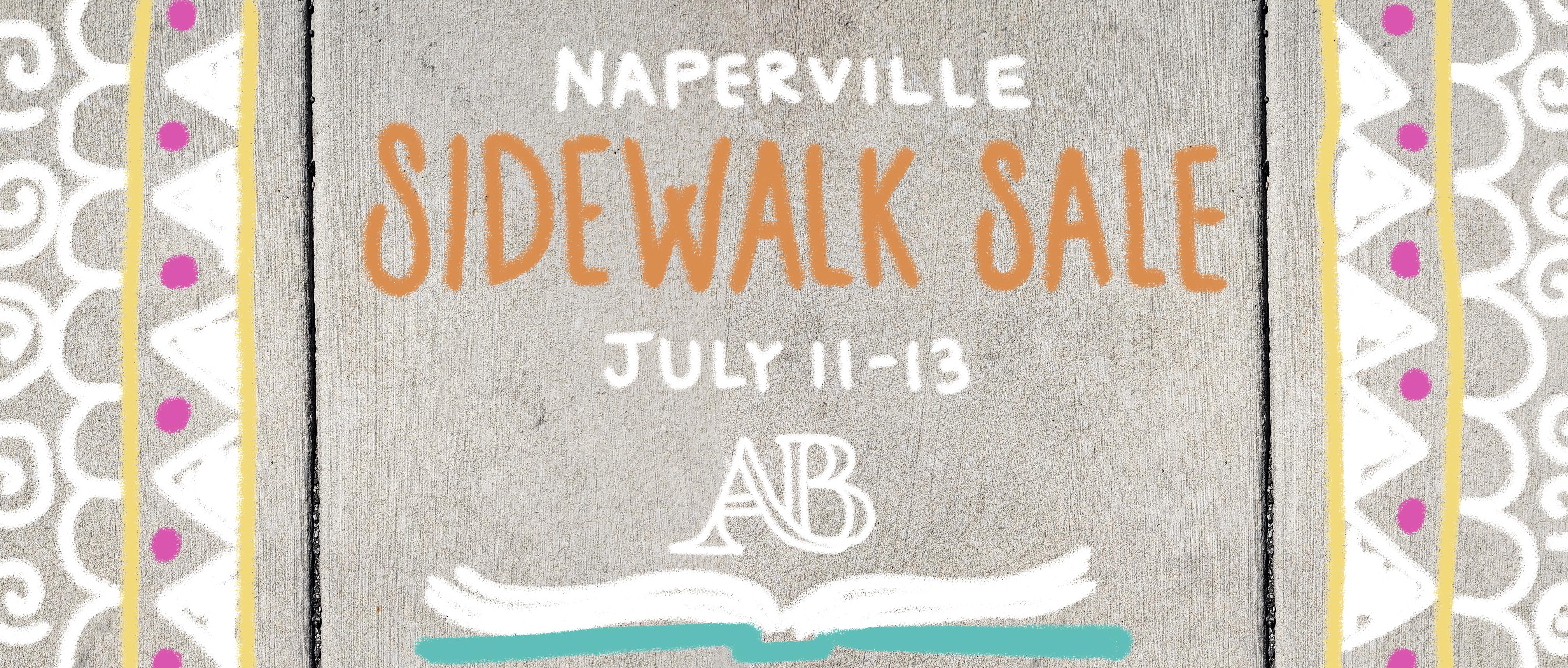 Sidewalk Sale in Naperville