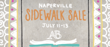 Sidewalk Sale in Naperville