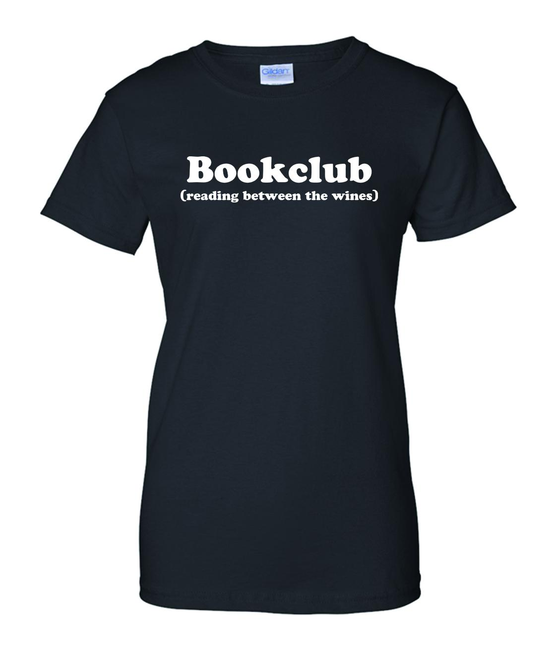 Bookclub reading between the wines t shirt anderson 39 s for Entire book on shirt